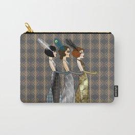 Art Deco Trio Carry-All Pouch