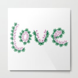 Cyclamen love Metal Print
