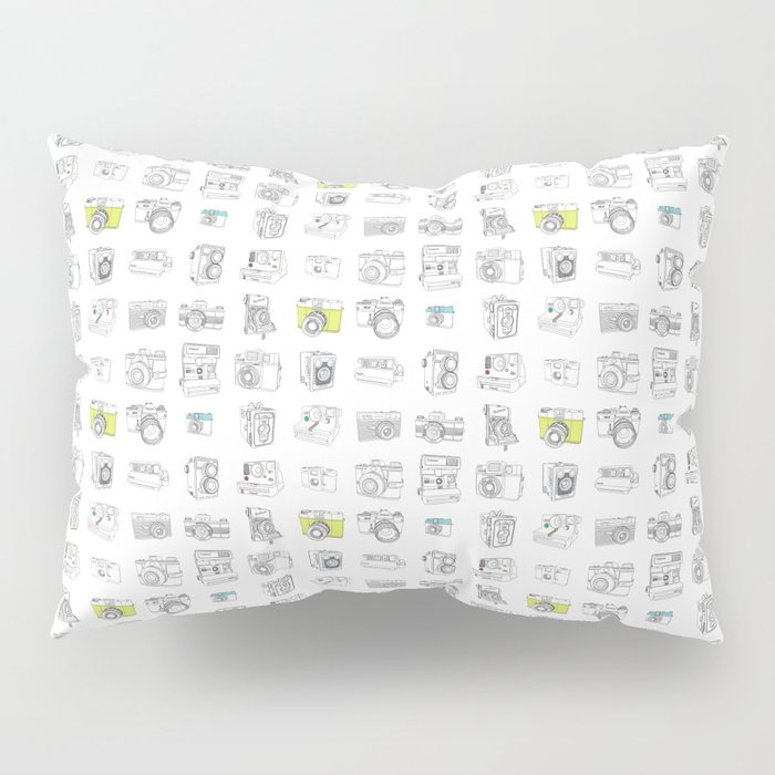 My Camera Collection Pillow Sham