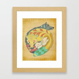 Close-knit Framed Art Print