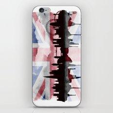 Great British Flag London Skyline 2 iPhone & iPod Skin