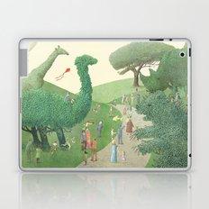The Night Gardener - Summer Park Laptop & iPad Skin