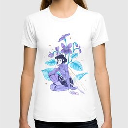 The Violet Knight - Ink Painting T-shirt