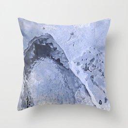 St Peters Pool - Travel Malta Watercolor Series Throw Pillow
