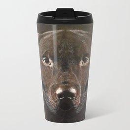 Classic Chocolate Labrador Travel Mug
