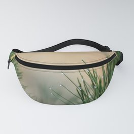 RAINDROPS ON GRASS Fanny Pack