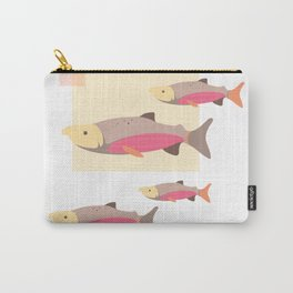Salmon in Autumn Carry-All Pouch