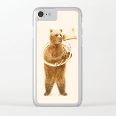 The Bear and its Helicon Clear iPhone Case