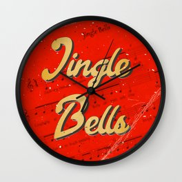 Jingle Bells #1 - A Hell Songbook Edition Wall Clock