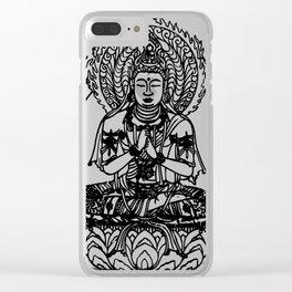 Buddah Clear iPhone Case