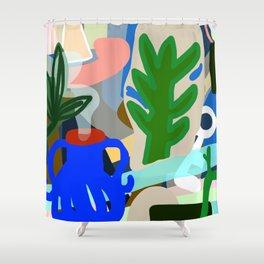 The Blue Jug Shower Curtain