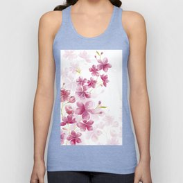 Cherry blossom Unisex Tank Top