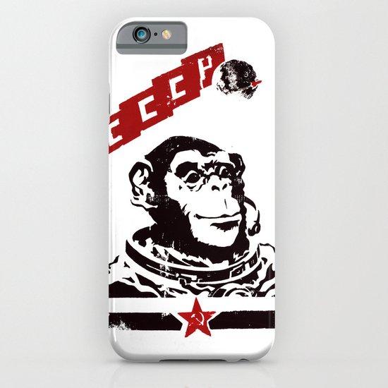 Soviet Space Monkey iPhone & iPod Case