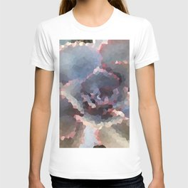Crystallized Purple Succulent T-shirt