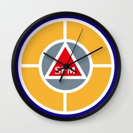 Success Factor Modeling Logo Wall Clock
