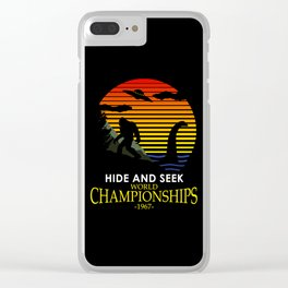 Hide And Seek World Championships 1967 Clear iPhone Case
