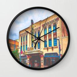 Kimo Theatre, Albuquerque Wall Clock