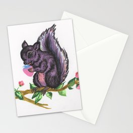 Megan Thee Squirrel Stationery Cards
