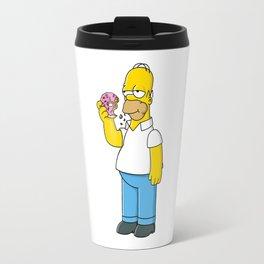 hungry dounat simpson Travel Mug
