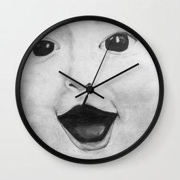 Baby face Wall Clock