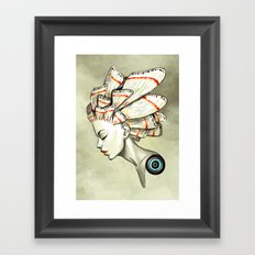 Moth 2 Framed Art Print