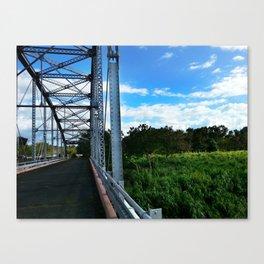 Old Añasco Bridge Canvas Print