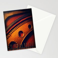 piano skeleton Stationery Cards