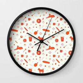 Redpattern Wall Clock