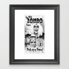 ZOMBO Framed Art Print