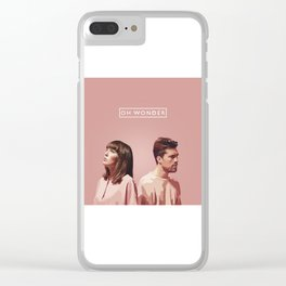 OH WONDER Clear iPhone Case