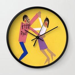 Let's Do The JitterBug! Wall Clock