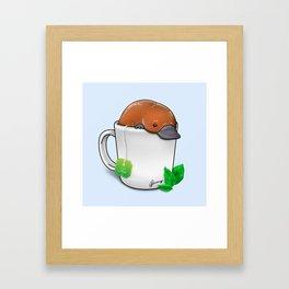 Pla-TEA-pus Framed Art Print