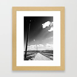 Distant Thoughts Framed Art Print