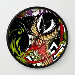 Neon Venom Wall Clock
