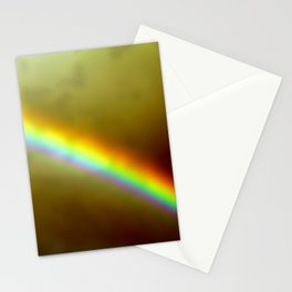 in rainbows Stationery Cards
