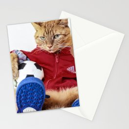 The Cat is #Adidas Stationery Cards