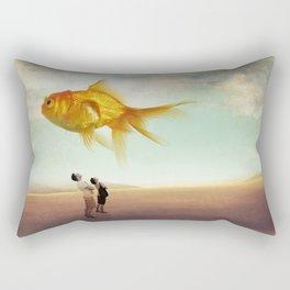 Above Rectangular Pillow
