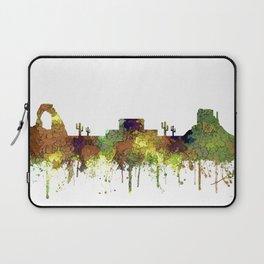 Mesa, Arizona Skyline - Safari Buff Laptop Sleeve