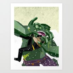 Ultimate Hulkout Featuring The Canadian Art Print