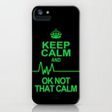 Keep Calm iPhone (5, 5s) Slim Case