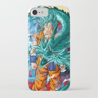 dbz iPhone & iPod Cases featuring DBZ - A Hero by Mr. Stonebanks