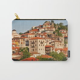 Dimitsana is a mountain village in Arcadia, Peloponnese, Greece. Carry-All Pouch