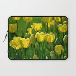 Gelbe Tulpen Laptop Sleeve