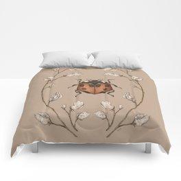 The Ladybug and Sweet Pea Comforters