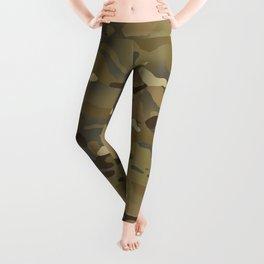 Camouflage: Mud Colors Leggings