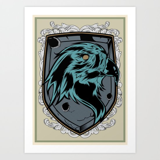 save the eagles Art Print