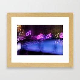 Ibiza Vibes - JUSTART © Framed Art Print