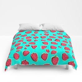 Fresas de invierno Comforters