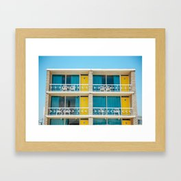 Retro Hotel Print Framed Art Print