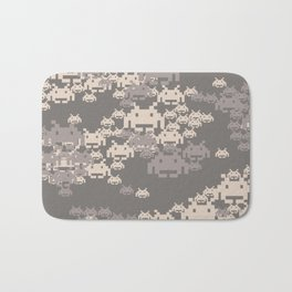 Space Invader Camo Bath Mat